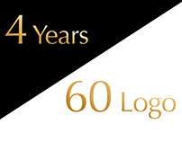 4 Years / 60 Logo
