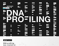 DNA Profiling Informational Web page
