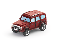 Vehicles 2 Low Poly