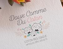 Logo pour la marque Doux comme du Coton