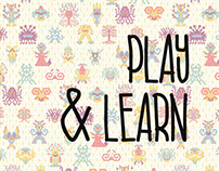 CREATures: Play & Learn - A Pattern-based Doodle Book