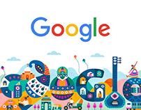 Google Doodle / Republic Day 2020 - India