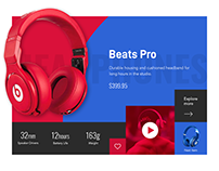 Product Slider Web UI