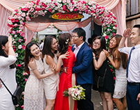 Engagement photojournalism of Son & Khanh