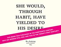 Literary Feminism: Poster Design