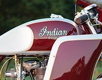 Analog Motorcyles Ad Work