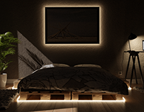 Bedroom - Day|Night