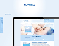 Nutricia Web Site