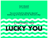 St Patrick's Day at Skybar