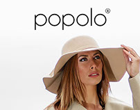POPOLO web site design