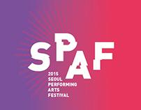 2015 SEOUL PERFORMING ARTS FESTIVAL EVENT DESIGN