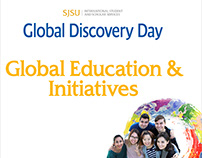 Promotional materials for Global Discovery Day – SJSU