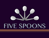 FIVE SPOONS - Logo Bump
