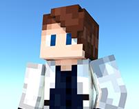 Minimalistic MineCraft avatar renders.