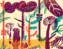Vacaciones / La vuelta al Mes en 30 Ilustradores