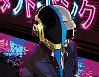 NEON - Daft Punk Tribute #DP3 - Gauntlet Gallery
