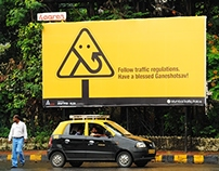 Traffic Hoarding on account of Lord Ganesha's Festival
