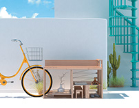 Be Ecool Bench - Fontanot Zero Waste