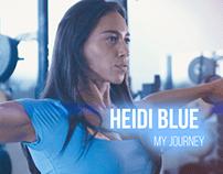 Heidi Blue WBFF Pro