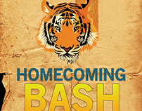 Williamston Homecoming Bash Flyer