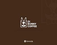 Di Bunny Coffee Logo