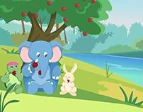 الفيل يحب التعاون