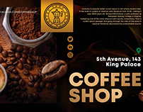 Free Coffee Shop Poster PSD Template