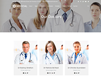 Team Template - Medical WordPress Theme by Visualmodo