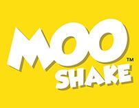 MooShake branding and packaging