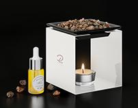 Home Pure Perfume - 3D visualization