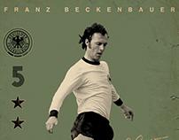 Vintage Football Posters