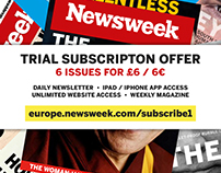 Newsweek - Print subscription advert