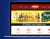 Alimentos Napoli Website