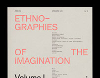 Ethnographies of the Imagination