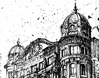 Szabadsag Ter House in Budapest
