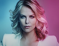 Magazine Cover & Layout – Charlize Theron
