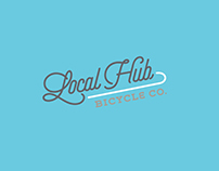 Local Hub Bicycle Co. - Brand Identity Package