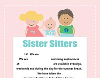 Sister Sitters Flyer