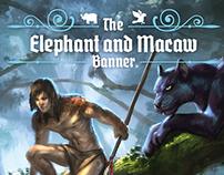 """Capas para Coleção - """"The Elephant and Macaw Banner"""""""