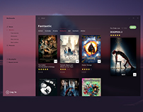 UI movie app