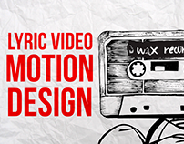 Lyric Video Motion Design