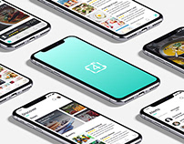 Four Food | IOS App Design
