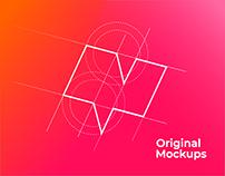Original Mockups Rebranding