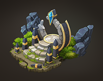 Isometric Fantasy Portal
