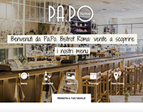 PA.PO. Bistrot - Website