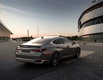Full CGI Lexus ES