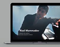 Riad Mammadov — website