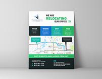 Relocating Advert Design