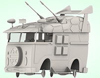 Turtle Van  / Tortucamioneta