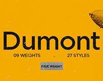 Dumont | font family
